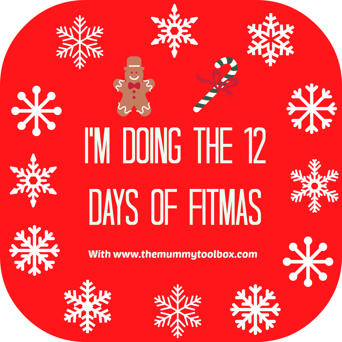 The 12 Days of Fitmas - Christmas Fitness Challenge